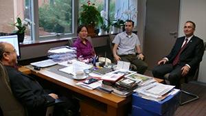 Amerikalı direktörden Üsküdar Üniversitesi'ne ziyaret