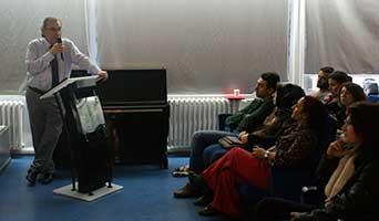 """Tarhan'dan Rehber Öğretmenlere """"Sosyal Medya Bağımlılığı"""" konferansı"""