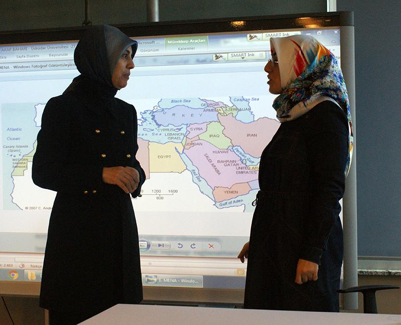 Üsküdar Üniversitesi'nde Arap Baharı söyleşisi 3