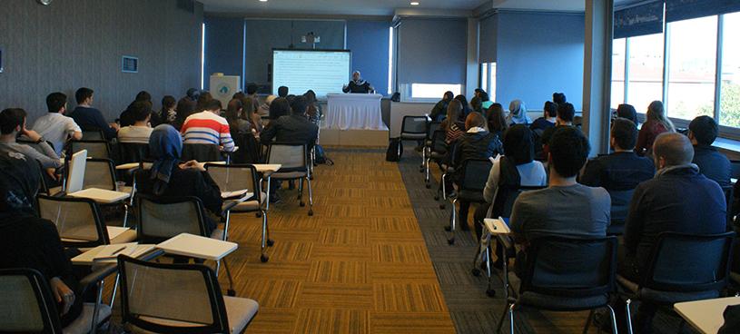 Üsküdar Üniversitesi'nde Arap Baharı söyleşisi 2