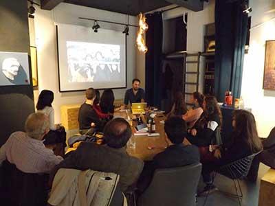Üsküdar Üniversitesi öğrencileri fotoğraf sanatçısı Murathan Özbek ile buluştu 2
