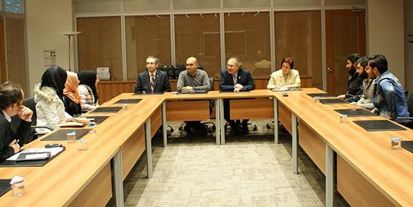 Rektör Prof. Dr. Nevzat Tarhan Yabancı Uyruklu Öğrencileriyle buluştu. 5