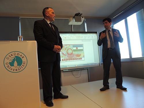 Prof.Dr. Ruşen Galyamov'dan Üsküdar Üniversitesi'ne ziyaret 3