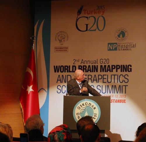 Üsküdar Üniversitesi'nde 2. G20 Dünya Beyin Haritalama Zirvesi 13