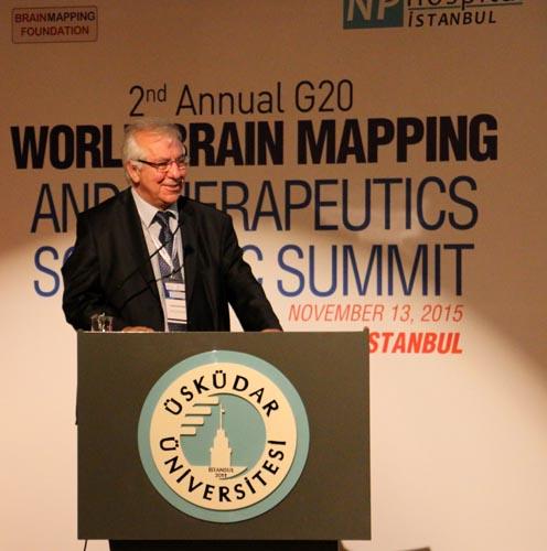 Üsküdar Üniversitesi'nde 2. G20 Dünya Beyin Haritalama Zirvesi 16