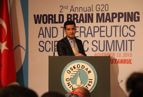 Üsküdar Üniversitesi'nde 2. G20 Dünya Beyin Haritalama Zirvesi 4