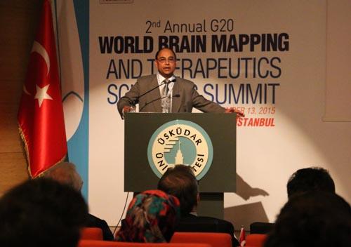 Üsküdar Üniversitesi'nde 2. G20 Dünya Beyin Haritalama Zirvesi 9