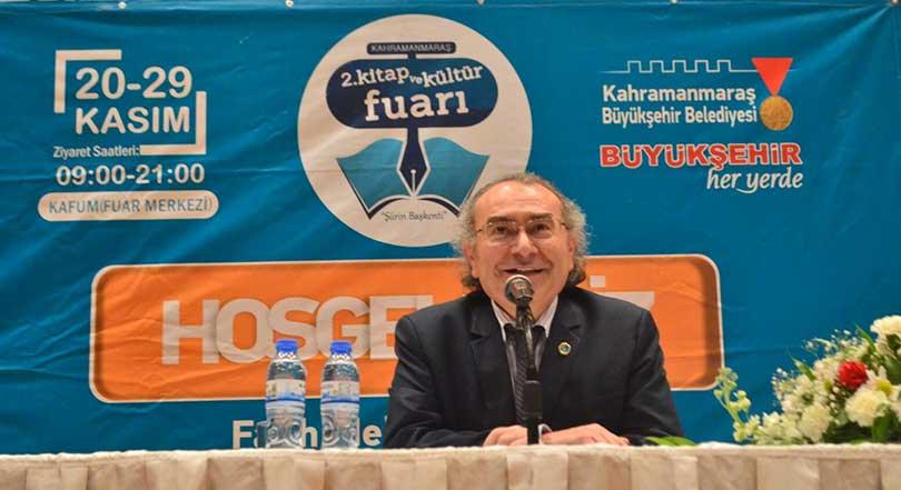 """Prof. Dr. Nevzat Tarhan Maraş'ta """"Aile İçi İletişim"""" konferansı verdi"""