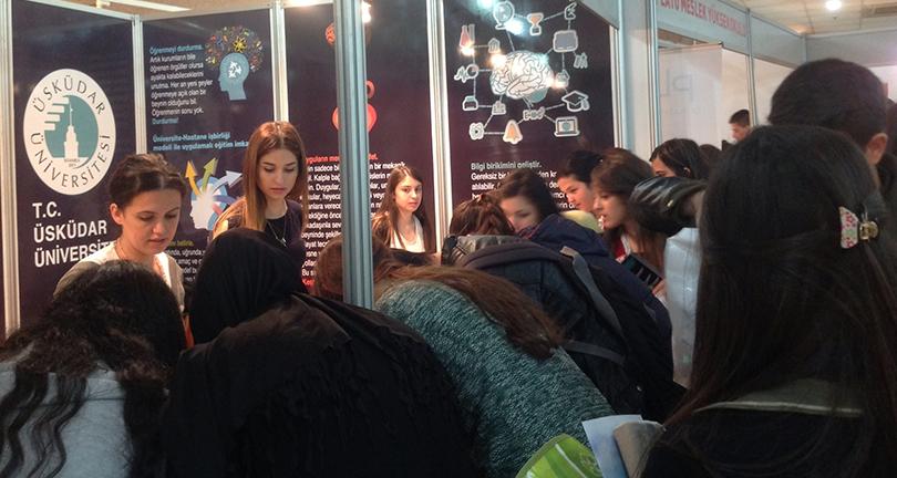 Üsküdar Üniversitesi, İstanbul İnovasyon Fuarı'na katılıyor