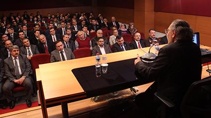 """Tarhan'dan Hâkim ve Savcılara """"Liderlik Psikolojisi"""" konferansı 2"""