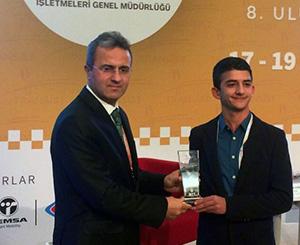 """Üsküdar Üniversitesi'nin """"Yeşil Yol Projesi"""" ikinci oldu"""