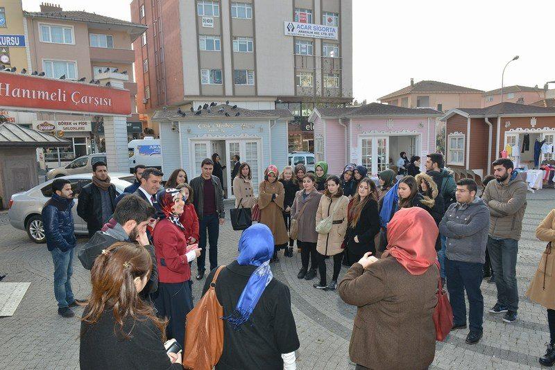 Üsküdar Üniversitesi Öğrencileri Ümraniye Belediyesi'nin çalışmalarını yerinde gördü 2
