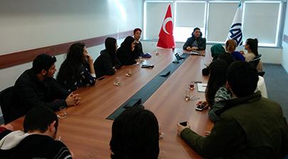 İletişim öğrencileri Anadolu Ajansı'nı ziyaret etti 5