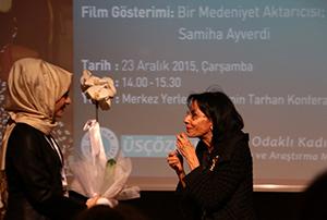 Mütefekkir yazar Sâmiha AyverdiÜsküdar Üniversitesi'nde konuşuldu… 3