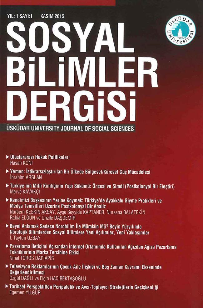 Üsküdar Üniversitesi Sosyal Bilimler Dergisi akademik dünyaya katkı sağlayacak. 2
