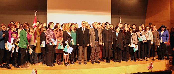 """Üsküdar Üniversitesi'nde """"tasavvuf"""" eğitimini tamamladılar"""