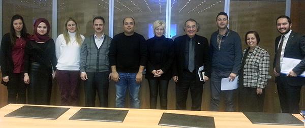 Üsküdar Üniversitesi Mezunlar Derneği tanışma ve istişare toplatısında buluştu