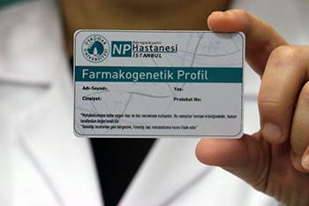 Türkiye'nin ilk Farmakogenetik Kimlik Kartı! 2