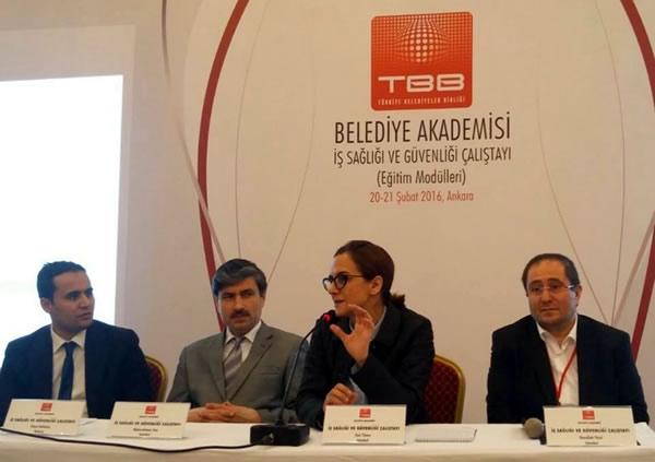 Üsküdar Üniversitesi, İş Sağlığı ve Güvenliği Eğitim Modülleri Çalıştayı'na katıldı