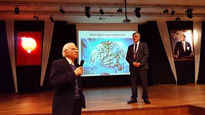 Üsküdar Üniversitesi öğretim üyeleri, 4. Genetik ve Biyomühendislik Günleri'nde 2