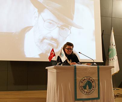 Umberto Eco ölümünün hemen ardından Üsküdar Üniversitesi'nde anıldı. 2
