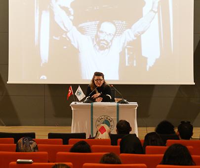 Umberto Eco ölümünün hemen ardından Üsküdar Üniversitesi'nde anıldı.