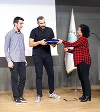 Ümit Erdim, Üsküdar Üniversitesi'nde öğrencilerle buluştu 2
