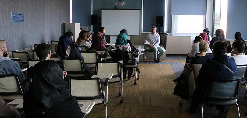 Ünlü senarist Suat Köçer, Üsküdar Üniversitesi öğrencileriyle buluştu