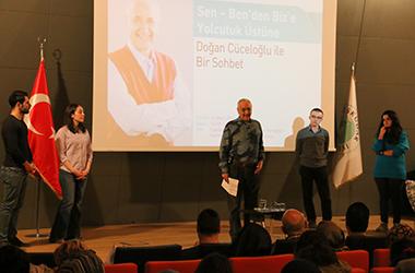 Psikolog Doğan Cüceloğlu, Üsküdar Üniversitesi'ndeydi 2