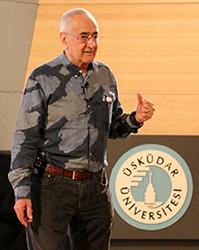 Psikolog Doğan Cüceloğlu, Üsküdar Üniversitesi'ndeydi 3