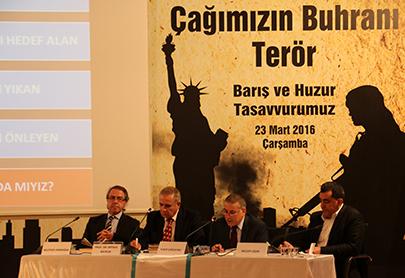 """""""Çağımızın Buhranı Terör"""" Sempozyumu Prof. Dr. Mehmet Görmez'in katılımıyla gerçekleştirildi 5"""