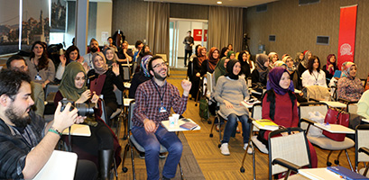 Beyinleri cilalamak için Üsküdar Üniversitesi'nde buluştular 8
