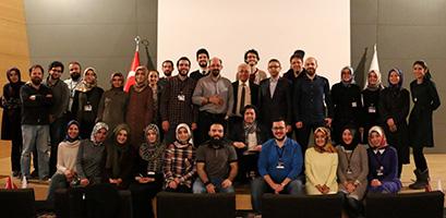 Beyinleri cilalamak için Üsküdar Üniversitesi'nde buluştular 12