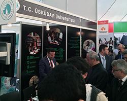 Üsküdar Üniversitesi, Isparta'da üniversite adaylarıyla buluşuyor