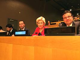 Prof.Dr. Sevil Atasoy, BM Uluslararası Uyuşturucu Kontrol Kurulu'na ikinci kez seçildi. 2