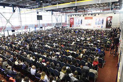 Prof. Dr. Oğuz Tanrıdağ TED IV. Uluslararası Eğitim Forumuna katıldı 2