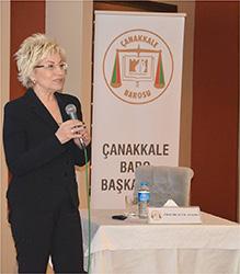 Prof. Dr. Sevil Atasoy Çanakkale'de Hukukçularla buluştu... 4