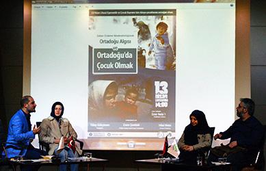 Ortadoğu Çocukları Üsküdar Üniversitesi'nde konuşuldu 2
