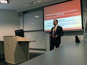 Yrd. Doç. Dr. Dinçer Atlı, Avustralya'da Üsküdar Üniversitesi'ni temsil etti