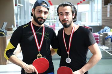 Üsküdar Üniversitesi'nde masa tenisi final heyecanı! 2