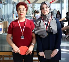 Üsküdar Üniversitesi'nde masa tenisi final heyecanı! 4