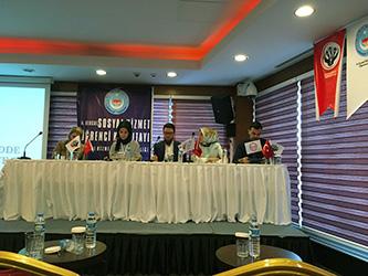 """Öğrencimiz Nurefşan Tomaç """"Güncel Sosyal Olgular"""" Panelinde konuştu."""