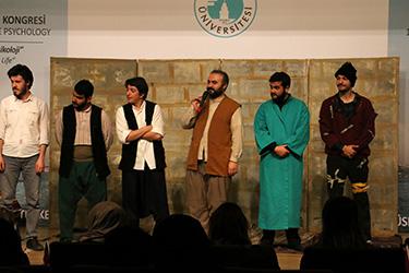 Hüdayi'nin Ziyafet Sofrası Üsküdar Üniversitesi'nde sahnelendi. 2