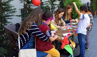 Çocuklar Üsküdar Üniversitesi Çocuk Şenliğinde eğlendi… 2