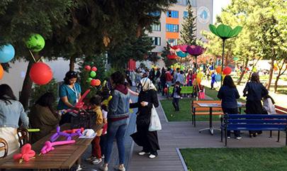 Çocuklar Üsküdar Üniversitesi Çocuk Şenliğinde eğlendi… 3