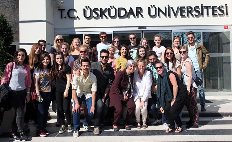 Erasmus kapsamında Hollanda'dan 15 öğrenci Üsküdar'da…