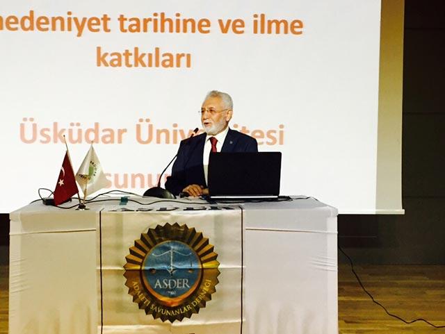 Üniversite Kültürü Derslerinin Konuğu Mardin Artuklu Rektörü Prof. Dr. Ahmet Ağırakça oldu 2