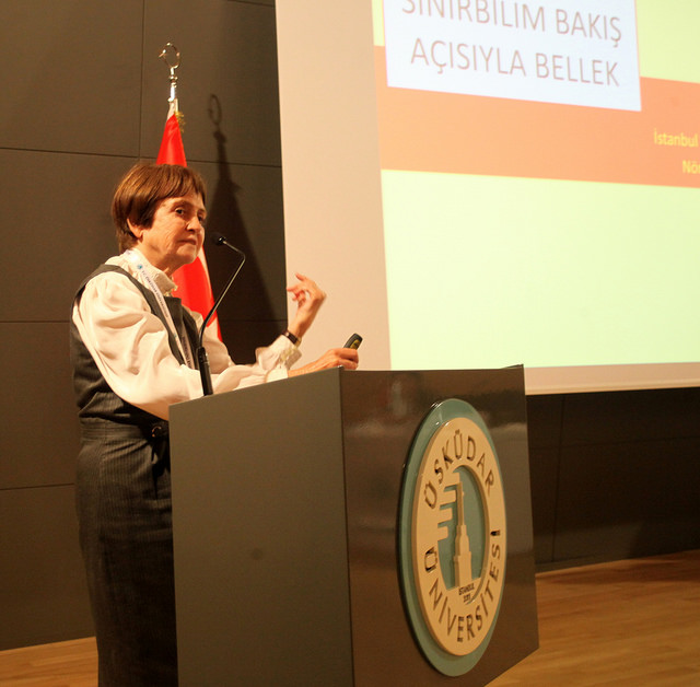 """The Secret of Super-Aging"" was explained at Üsküdar University"