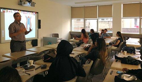 Rektör Tarhan, ERASMUS oryantasyon programında öğrencilerle buluştu 2