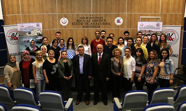 Üsküdar Üniversitesi Kocaeli'ndeki sağlık personeline etkili iletişim eğitimi verdi 2
